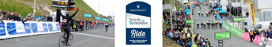 Maserati Tour de Yorkshire Ride 2017
